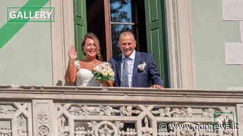 Fiori d'arancio a Santa Lucia di Piave: oggi le nozze tra Riccardo Szumski e Stefania Palù a palazzo Ancillotto. La cerimonia laica celebrata da Giovanni Bernardelli - Qdpnews