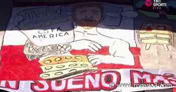 Banderas y homenajes para el Messi campeón en el Coloso - Rosario3.com