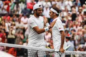 Matteo Berrettini wird beim Laver Cup an der Seite von Roger Federer spielen - Tennis World DE