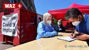 Corona-Virus: So verläuft das mobile Impfen in Oberhausen - Westdeutsche Allgemeine Zeitung