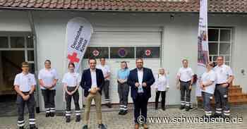 Benjamin Strasser besucht das Rote Kreuz in Weingarten - Schwäbische