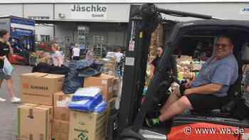 Schnelle Hilfe für Flutopfer: Firma aus Hamm bringt Spenden ins Krisengebiet - wa.de