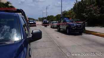 Tras persecución, reportan balacera en Playa del Carmen - PorEsto