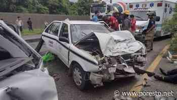 Choque automovilístico deja tres heridos en Playa del Carmen - PorEsto