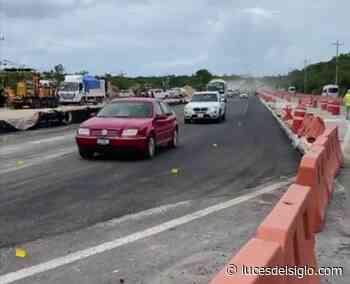 Abren dos carriles de carretera Cancún-Playa del Carmen – Luces del Siglo - Luces del Siglo