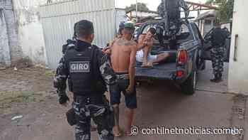 Polícia Militar prende trio com arma e dinheiro no bairro Taquari - ContilNet Notícias