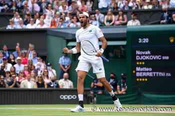 Nach Rafael Nadal, Roger Federer zieht sich auch Matteo Berrettini aus Tokio zurück - Tennis World DE