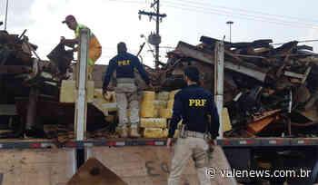 PRF apreende cerca de 5 toneladas de maconha em Santa Isabel - Vale News