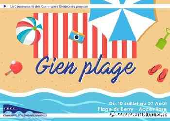 Gien Plage 2021 : Soft Archery et Spikeball Esplanade du Berry vendredi 30 juillet 2021 - Unidivers