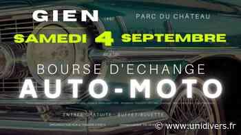 Bourse d'échange Auro Moto parc du chateau samedi 4 septembre 2021 - Unidivers