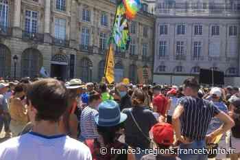 À Bordeaux, Agen, Périgueux, Pau, ils manifestent contre l'obligation vaccinale et le pass sanitaire dans le S - France 3 Régions