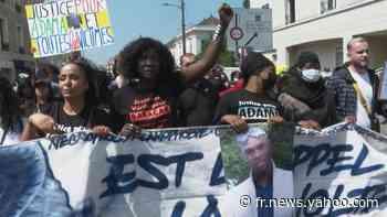 Marche pour Adama Traoré à Persan, cinq ans après sa mort - Yahoo Actualités