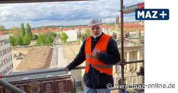 Wieland Eschenburg über den Wiederaufbau des Turms der Garnisonkirche Potsdam - Märkische Allgemeine Zeitung