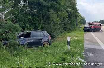 Unfall bei Neuenstein - Autos geraten auf A6 ins Schleudern - drei Schwerverletzte - Stuttgarter Zeitung