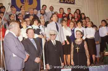 Coro Polifónico «Ciudad de 9 de Julio». 70 años de trayectoria artística y cultural, orgullo de la comunidad. - Diario El 9 de Julio