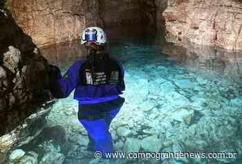 Gruta de 120 metros com água cristalina pode ser novo atrativo - Campo Grande News