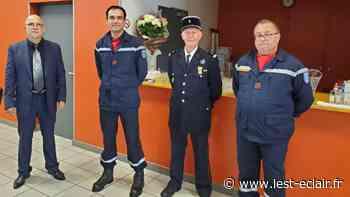 Saint-Jean-de-Bonneval : grades et diplômes pour les sapeurs-pompiers - L'Est Eclair