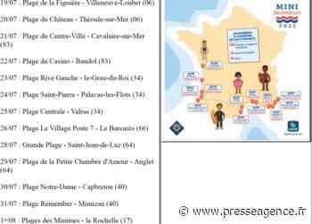 BANDOL : Tournée de prévention des Sauveteurs en Mer sur les plages du 19 juillet au 1er août - La lettre économique et politique de PACA - Presse Agence