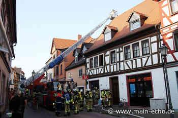 Schwelbrand in Obernburg sorgt für Sperrungen - Main-Echo