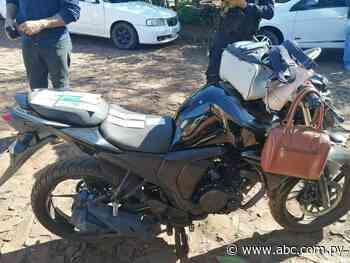 Presidente Franco: intervienen supuesto aguantadero de delincuentes y recuperan moto robada - ABC en el Este - ABC Color