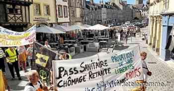 Une centaine d'anti pass sanitaire manifeste à Lamballe - Le Télégramme