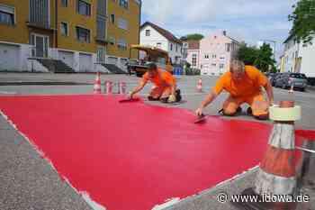 Dritte Straubinger Fahrradstraße - Schulgasse bis zur Petersgasse wird rot - idowa