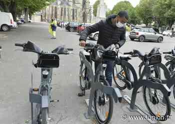 Premier bilan positif pourles vélos électriques Cyclovis à Soissons - L'Union