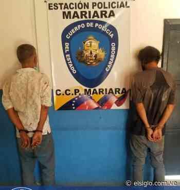"""Policía de Carabobo detuvo a """"los gozones"""" de Mariara - Diario El Siglo"""