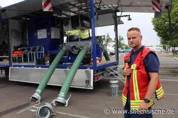 Riesa: THW Riesa steht mit Super-Pumpe bereit - Sächsische.de
