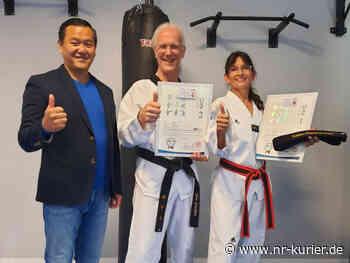 VfL Oberlahr/Flammersfeld: Taekwondo-Schwarzgurtprüfung erfolgreich bestanden - NR-Kurier - Internetzeitung für den Kreis Neuwied