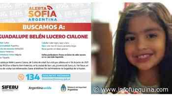 Se cumple una semana sin noticias de Guadalupe y crece la angustia - Infofueguina