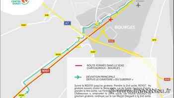 Circulation interdite sur la RN 151 dans le sens Châteauroux-Bourges, du 19 au 30 juillet - France Bleu