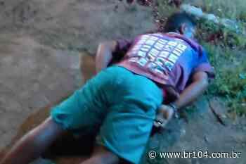 Urgente! Jovem é assassinado a tiros em União dos Palmares - BR 104