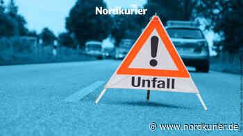 18-jähriger Fahranfänger verletzt sich in Neustrelitz beim Ausweichen - Nordkurier