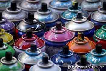 Gersthofen: Graffiti-Sprayer auf frischer Tat erwischt - BSAktuell