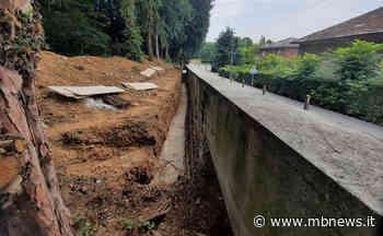 Al Parco Scaccabarozzi di Usmate Velate il muro perimetrale si rifà il look • MBNews - MBnews