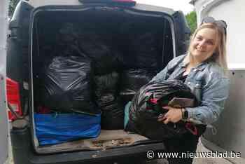 Charlotte start als eerste hulpactie voor watersnood (Nijlen) - Het Nieuwsblad