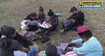 Educación pública en pandemia: ¿progreso o retroceso? - Cerro de Pasco   CORRESPONSALES-ESCOLARES - El Comercio Perú