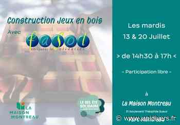 Fabrication de jeux en bois avec FaSol ! La Maison Montreau 31 mardi 20 juillet 2021 - Unidivers