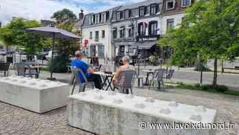 Le passage surélevé de la Grand-Place à Montreuil ne sera finalement pas piéton cet été - La Voix du Nord