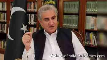 Pakistan Foreign Minister Shah Mehmood Qureshi blames India for 'politicising FATF'