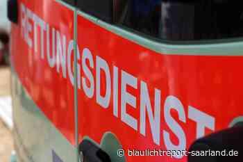 Homburg: Lebensbedrohlich verletzt bei Verkehrsunfall – Blaulichtreport-Saarland.de - Blaulichtreport-Saarland