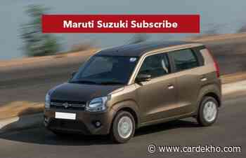 Maruti Suzuki Subscribe Now Offered In Four More Cities - CarDekho