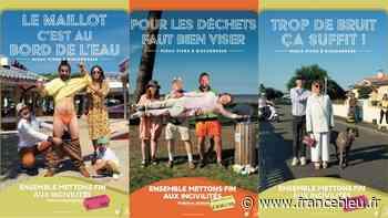 Biscarrosse : déchets, mégots, bruit et stationnement gênant, la ville veut lutter contre les incivilités - France Bleu