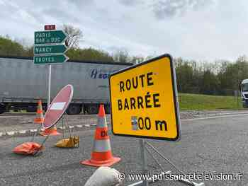 La RN4 fermée à Saint-Dizier à cause des inondations | Puissance Télévision - Puissance Télévision