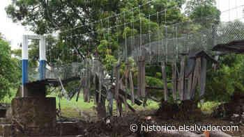 El puente de San Pablo Tacachico fue destruido por el río Suquiapa antes de ser inaugurado   Noticias de El Salvador - elsalvador.com - elsalvador.com