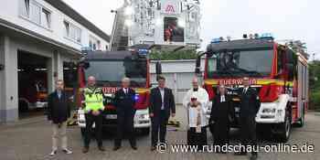 Troisdorf: Wehrleute sind mit neuem Drehleiterwagen schneller im Einsatz - Kölnische Rundschau