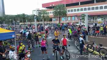 Ciclopaseo por 60 aniversario de Ciudad Guayana contó con más de 400 ciclistas - Diario Primicia - primicia.com.ve