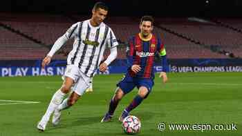 Barcelona use Ronaldo poster to remind players of COVID-19 protocols