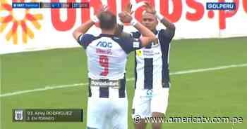 Alianza Lima vs. Ayacucho FC: Arley Rodríguez puso el 4-1 para los íntimos - América Televisión